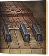 Play Me An Old Hymn Wood Print