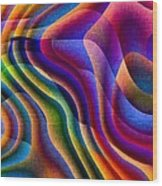 Play With Colours Wood Print