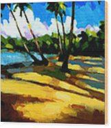 Playa Bonita 2 Wood Print
