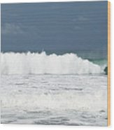 Playa Hermosa Wave Number Three Central Pacific Coast Costa Rica Wood Print