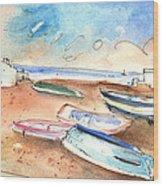 Playa Honda In Lanzarote 03 Wood Print