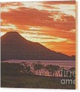 Playa Matapalo Costa Rica Wood Print