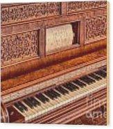 Piano Keys In The Key Of Life Wood Print