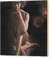Chynna African American Nude Girl In Sexy Sensual Photograph And In Color 4774.02 Wood Print