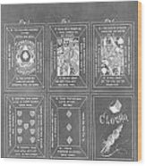 Playing Cards Wood Print