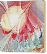Playing With Colors Wood Print by Anastasiya Malakhova