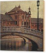 Plaza De Espana 5. Seville Wood Print