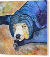 Pleasant Dreams Wood Print by Debi Starr