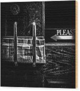 Please Wood Print