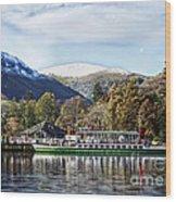 Pleasure Cruiser On Ullswater Wood Print