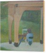 Plein Aire at Park Wood Print