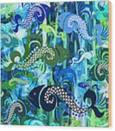 Plenty Of Fish In The Sea 1 Wood Print