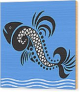 Plenty Of Fish In The Sea 4 Fish Wood Print