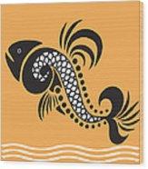Plenty Of Fish In The Sea 5 Fish Wood Print