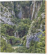 Plitvice Lakes - Croatia Wood Print