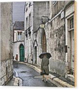 Pluie A Chartres - 1 Wood Print