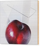 Plum Wood Print by HD Connelly