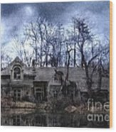 Plunkett Mansion Wood Print