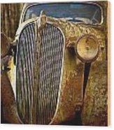 Plymouth Wood Print