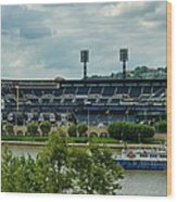 Pnc Park Pittsburgh Pirates Wood Print by Angelo Rolt
