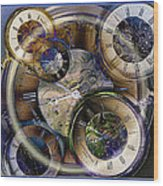 Pocketwatches Wood Print by Steve Ohlsen