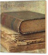 Poesie Francaise Wood Print