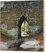 Poinsett Bridge Arch Wood Print