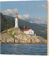 Point Atkinson Lighthouse Wood Print