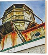 Point Bonita Lighthouse Wood Print by Robert Rus