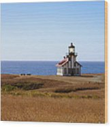 Point Cabrillo Light House Wood Print