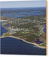 Point Judith, Rhode Island Wood Print