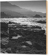 Point Lobos Wood Print