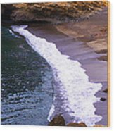Point Lobos Wood Print by Ron Regalado
