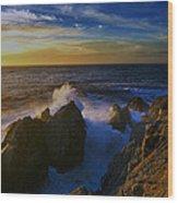 Point Lobos Two Wood Print