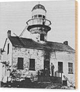 Point Loma Lighthouse Wood Print