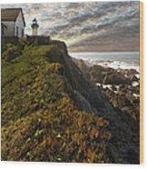 Point Montara Light House II Wood Print