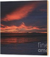 Point Mugu 1-9-10 Just After Sunset Wood Print