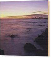 Point Piedras Blancas Lighthouse Wood Print