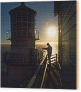 Point Reyes Lighthouse Wood Print
