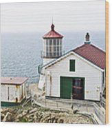 Point Reyes Lighthouse Wood Print