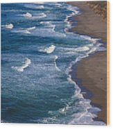Point Reyes Long Beach Wood Print by Garry Gay