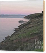 Point Reyes Sunset Wood Print