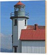 Point Robinson Light House Wood Print
