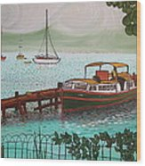 Pointe-a-pitre Martinique Across From Fort Du France Wood Print