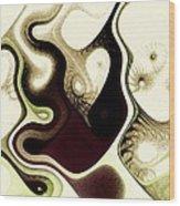 Poisoned Mind Wood Print