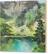Poland - Morskie Oko Wood Print
