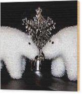 Polar Bears Wood Print