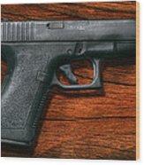 Police - Gun - The Modern Gun  Wood Print