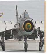 Polish Air Force Su-22 Fitter Wood Print