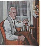 Polish Grandfather Wood Print